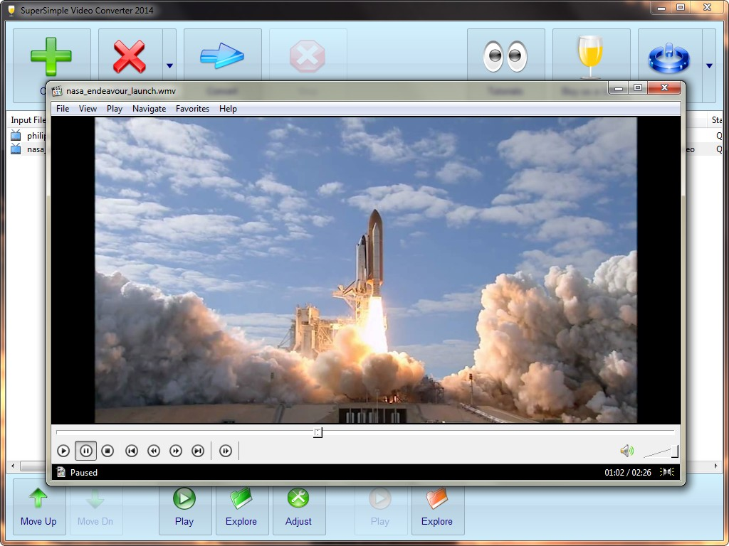 SuperSimple Video Converter full screenshot